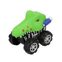 Crocodile Toy Car Vivid Model Kids Mini Pull Back Truck