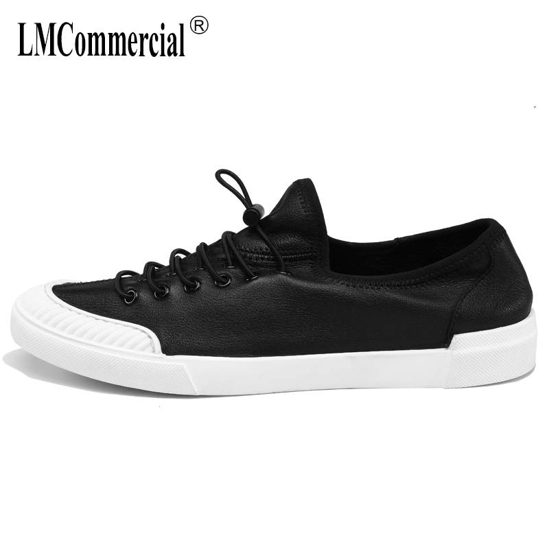 Men's shoes British retro all-match cowhide summer casual shoes men Genuine leather breathable lazy driving shoes male spring m genreal 2017 new women white shoes all match summer breathable leather shoes vulcanized casual shoes candy color lace 35 39