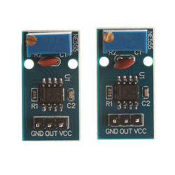 2x Module 5V-12V NE555 Adjustable Frequency For Arduino Pulse Generator Module