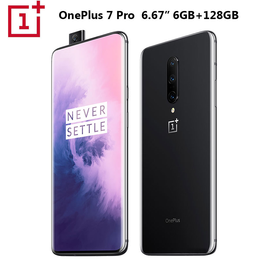 2019New OnePlus 7 Android 9.0 téléphone Mobile 8 GB 256 GB Snapdragon855 Octa core 6.41