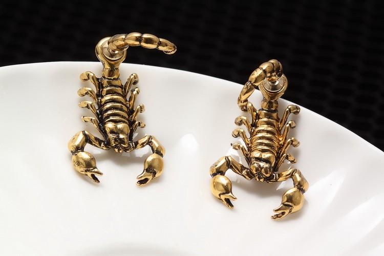 HTB1KgZCKFXXXXXUaXXXq6xXFXXXW - Fattail Scorpion Shaped Earrings