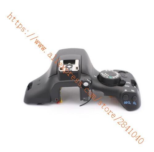 Couvercle d'origine LCD tête de couverture Flash pour Canon pour EOS 1300D rebelle T6 Kiss X80 pièce de réparation d'appareil photo numérique