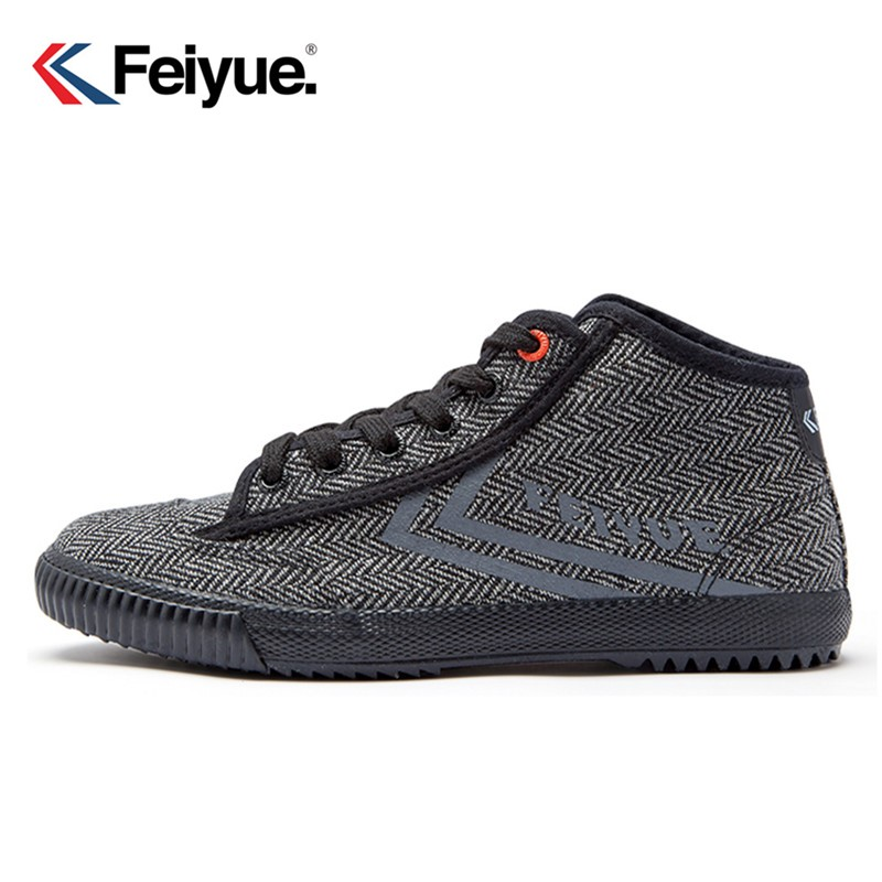 Feiyue Shoes Black Classical Felo X Feiyue Sneakers Shoes Martial Arts Taichi Kungfu Men Women Shoes