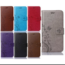 Leather Case for iphone 4S 5S SE 6 6S plus for Samsung galaxy S3 S4 S5 mini S6 S6 edge J1 J2 J3 J5 note4 5 Wallet Cover S4D66D