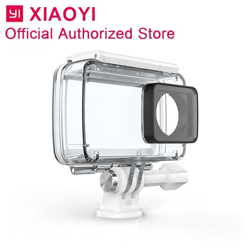 Оригинальный Yi водостойкий Чехол К 4 К K/4 K Plus Lite экшн-камера Спорт Kamera аксессуары подводный плавательный дайвинг подводное плавание серфинг