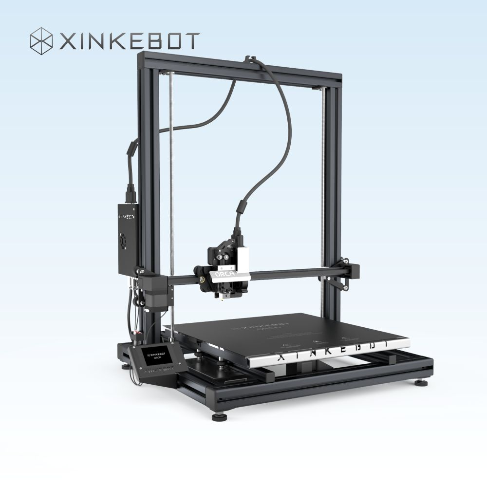 Fast Shipping Carefully Packaged XINKEBOT Best Accuracy 3D Printer Orca2 Cygnus Dual Extruder Heated Bed for Halloween Night