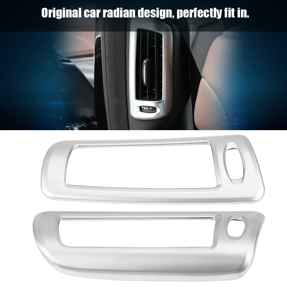 Car styling For Mercedes Benz W222 <font><b>S</b></font> Class 14-17 Air Conditioning Vents Cover <font><b>Stickers</b></font> AC Outlet Frame Trim Decoration <font><b>s</b></font> image