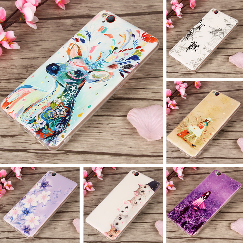 For ZTE Nubia N2 Case 3D Relief Cute Girl Fruit Animal Painting Cover TPU Soft Silicon Phone Case Coque For ZTE Nubia N2 N 2