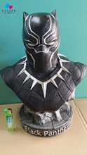 Kissen Avengers Captain America 3 : Civil War Black Panther 1/2 Resin Model Panther statue Panther half-length photo or portrait