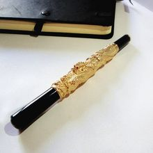Golden color quality ball pen 80g/pc sign for boss unique gifts her birthday party with gift box and free shipping