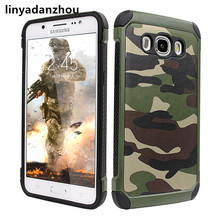10PCS Durable Army Camouflage Phone Case for Samsung A5 A3 A7 J7 J5 2017 Cover Military Como Hard Shockproof Covers Cases(China)