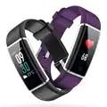ID130 Plus Tela Colorida Inteligente Pulseira Sports Pulseira Heart Rate Banda inteligente Atividade Rastreador De Fitness Mi Banda 2 para IOS Android