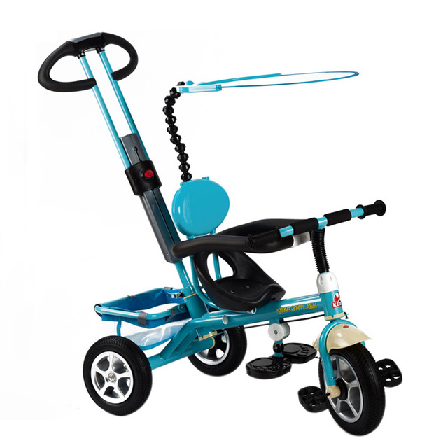 New Child Tricycle 3 Wheels Baby Stroller Bike Ride On Cars Kids Bicycle Prams and Pushchairs Baby Stroller 3 in 1