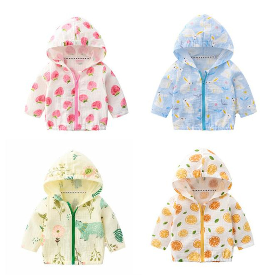 Clothing Jacket Baby Summer Shirt New Air-Conditioning Sun-Protection Mosquito-Resistant