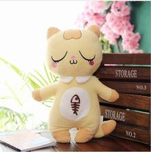 WYZHY Stay cute shy cat plush toy creative little girl girlfriend children holiday birthday gift 80CM