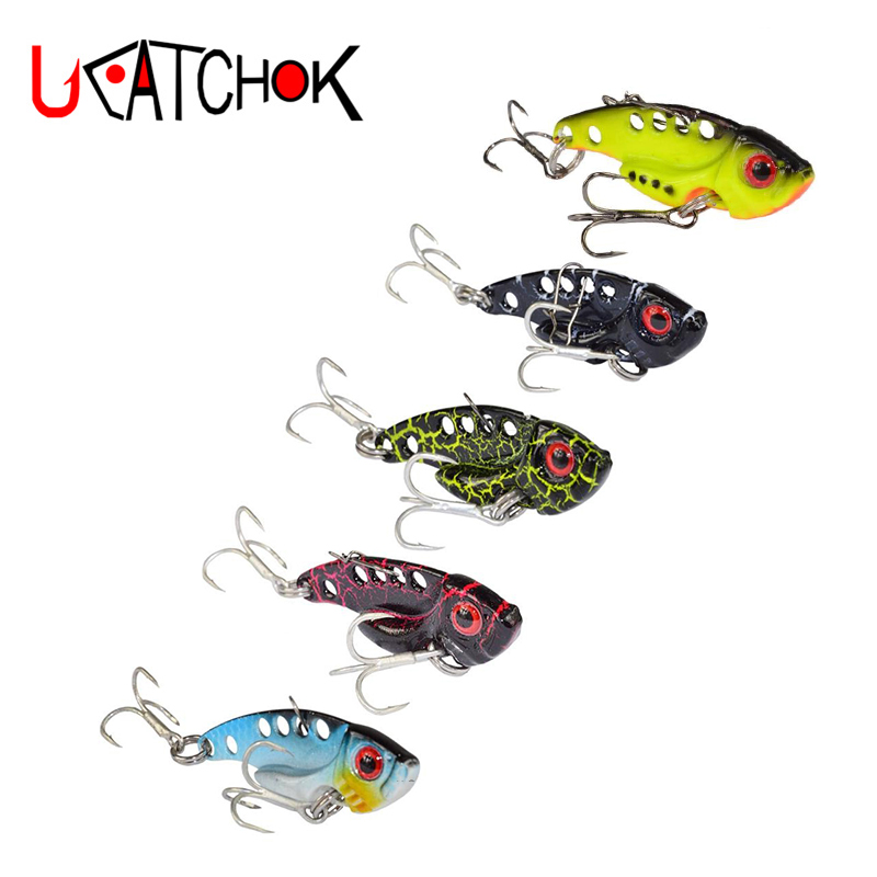 7g 12g 16g Metal VIB Color Combo Artificial hard Lure wobbler Spoon Fish Lure faked bait Treble Hook cicada lure bass vib bait wldslure 1pc 54g minnow sea fishing crankbait bass hard bait tuna lures wobbler trolling lure treble hook