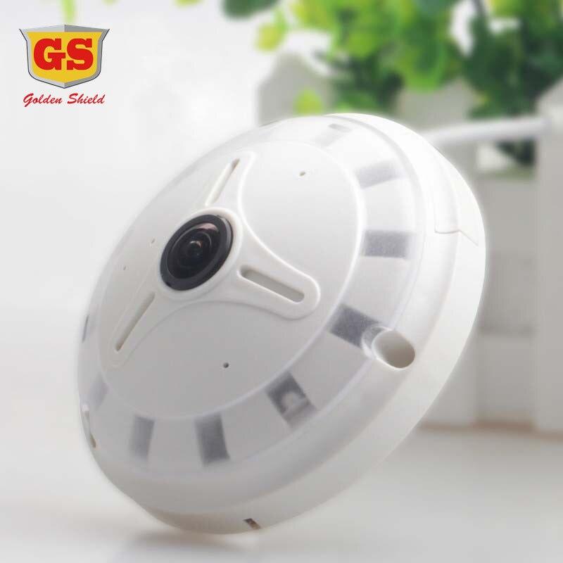 GS WIFI IP font b Camera b font 360 Fisheye Panoramic Dome font b Camera b