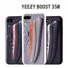Для Yeezy 350 Обувь V2 3D Сенсорный Кожа Телефон Случаях Для iphone6 6s 6 плюс 6 splus для iphone7 7 плюс case универсальный silicona case