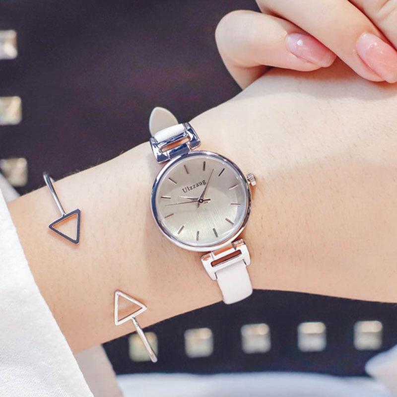 Women's Watches Hot Sale Exquisite Ladies Bracelet Watch 2018 Fashion Casual Women Watches Thin Belt Simple Female Quartz Wrist Watches Relogio Feminino