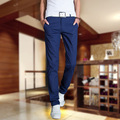 New Arrival Men Casual Pants High Quality Men's Slim Fit Casual Pants Fashion Straight Dress Pants Skinny Pants Smooth Trousers