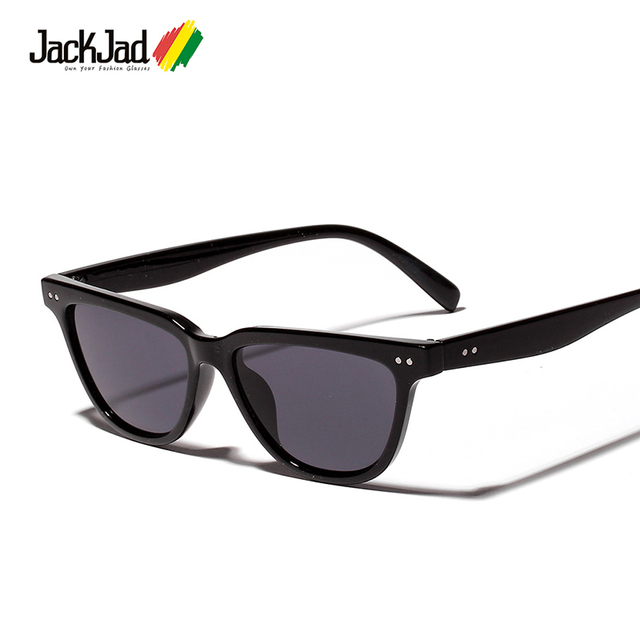 66984f2d41fd JackJad 2019 Fashion Cool Vintage Cat E Style Gradient Sunglasses Women Two Dots  Brand Design Sun
