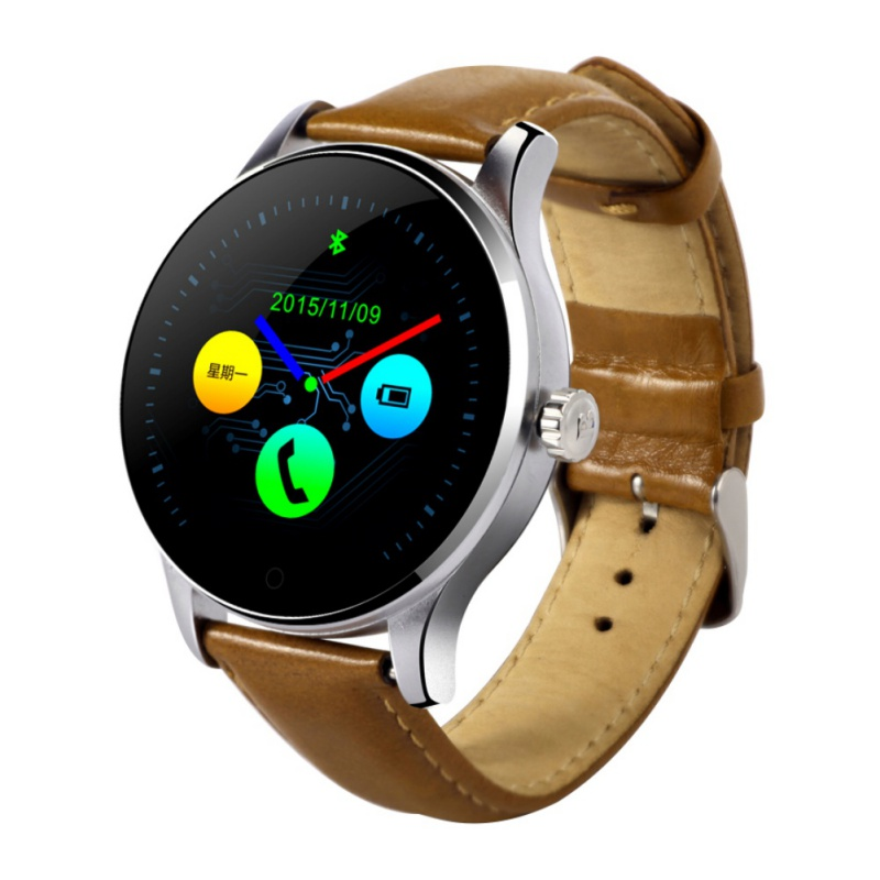 Original android smart watch mtk2502c smartwatch 1.22 pulgadas reloj despertador