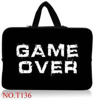 Game over przenoszenia torba na laptop sleeve case pokrowiec na 15