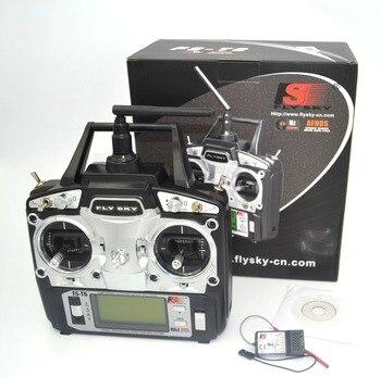 drone FlySky FS-T6 2.4G 6CH TX RX FS-R6B RC Radio Control Transmitter Receiver System
