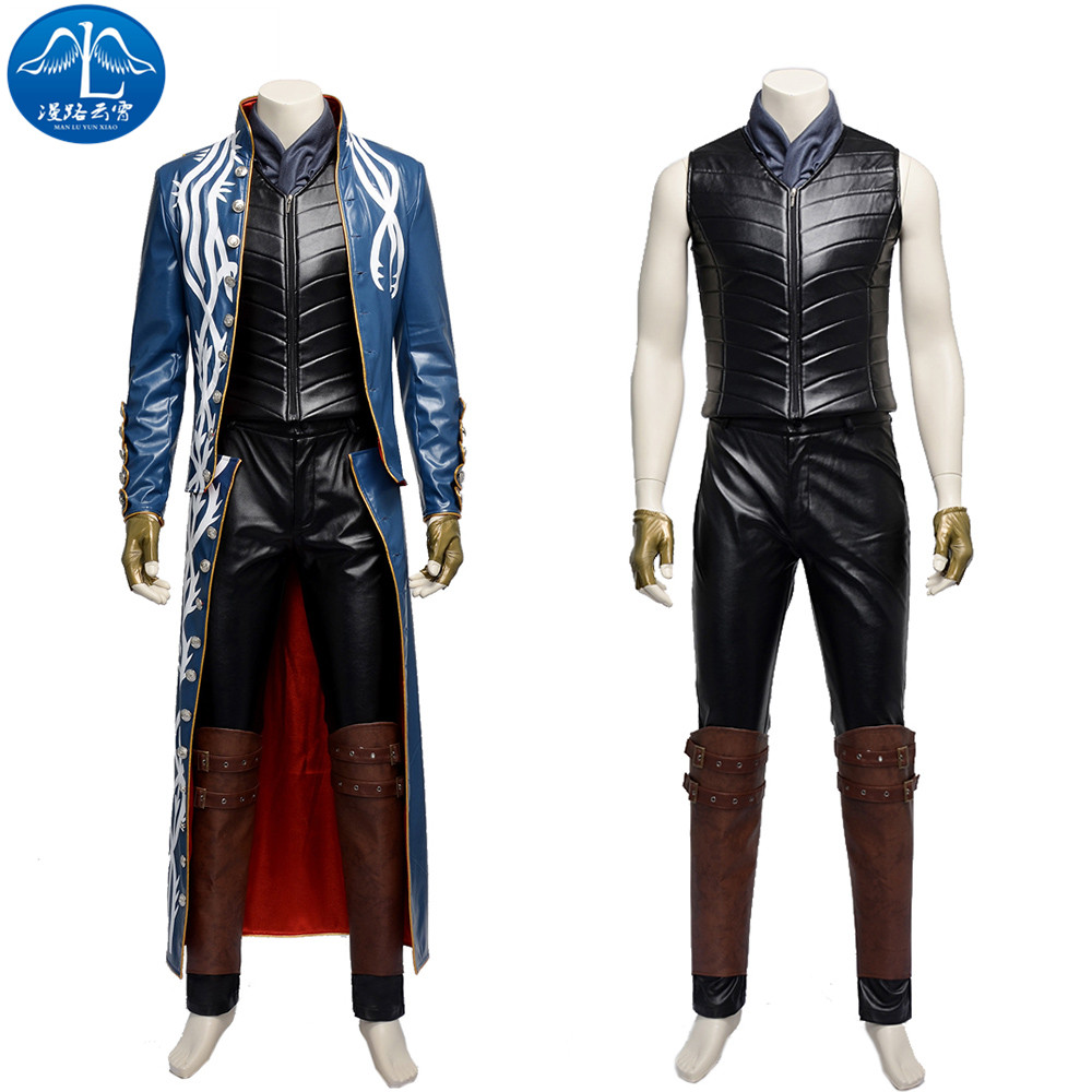 ManLuYunXiao Devil May Cry 3 Cosplay Costume Dante Costume Men Cosplay Costume Halloween Costumes For Men Custom Made