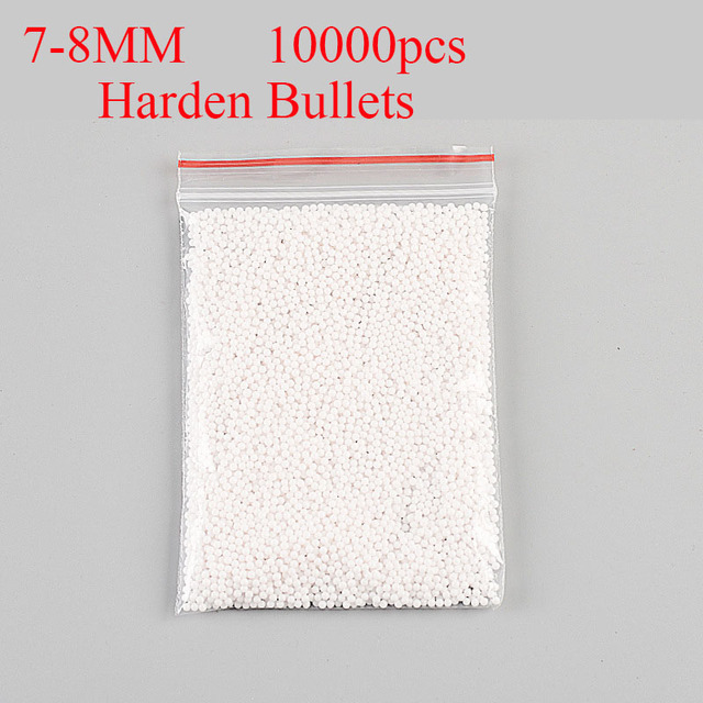 214f60b1a8 Aliexpress.com : Buy 2 pcs Water Gun Bullet 10000pcs/Bag Harden Crystal  Bullet Water Bomb Toy Gun Bullets Flower Decorative Water Beads Reforce  Bomb ...