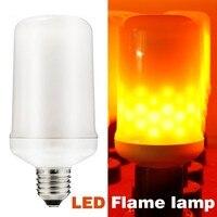 LED Lửa Bulb E26 E27 cơ sở, LED Lửa Hiệu Ứng Cháy Sáng Bóng Đèn cho Chiếu Sáng Trang Trí trên Giáng Sinh Halloween Sạn Holiday