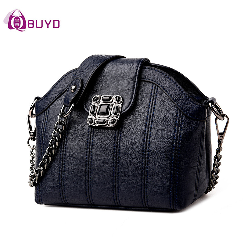 2017 Women Famous Brand Shell Bags Crossbody Bag For Women's Messenger Bag Small Ladies Shoulder Bags Sac A Main Rivet Handbags