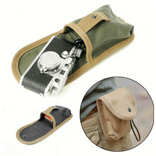 Pro Waterproof Canvas Photography Waist Packs Small DSLR Camera Waist Bag Photo Camera Case for Outdoor Travel M8302