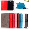 Бизнес amboss цветок бумажник карты ИСКУССТВЕННАЯ кожа Флип стенд крышка держатель чехол для Samsung Galaxy Tab E 9.6 T560 SM-T560 T561