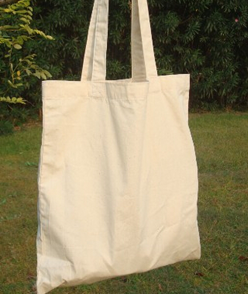 Blank Cotton Canvas Bag 6oz 37x42cm Plain Bags Tote Retail