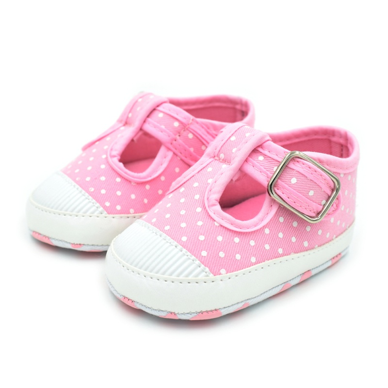 2017 Toddler Baby Shoes Boy Girl Floral T Type First Walkers Canvas Non-slip Sneakers 0-18M