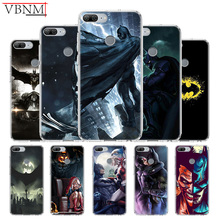 Batman DC Patterned Silicone TPU Case For Huawei Honor 6X 7 8 7X 8X 8A 8S Pro MAX 9 10 Lite V9 Play V20 8C Gift Customize Cover
