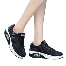 Women Casual Sports Shoes Outdoor Mesh Thick-Soled Air Cushion Shoes Sneakers scarpe donna sneakers #L5(China)