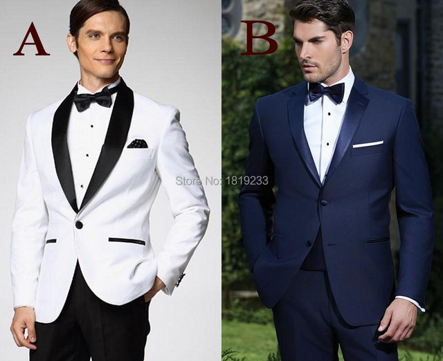 Custom Made New Arrival Groom Tuxedos 10 Styles Men\'s Suit Classic ...