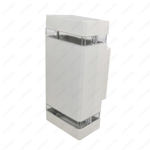 Außen 6 Watt LED Wandleuchte Licht Wasserdicht Bis/Unten Lampe Leuchte  Balkon Gehweg Gartentor/