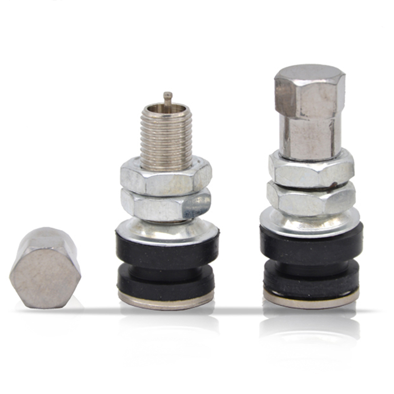 4 Pieces Of 3.3 * 1, 5cm Rubber Tire, Zinc Alloy Spool + Stem, Bicycle Bicycle Tire,Tire Accessories Vacuum Fetal Valve Mouth