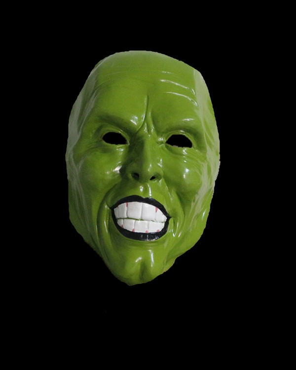 Realistic Jim Carrey The Mask TV Movie Latex Green character masks image