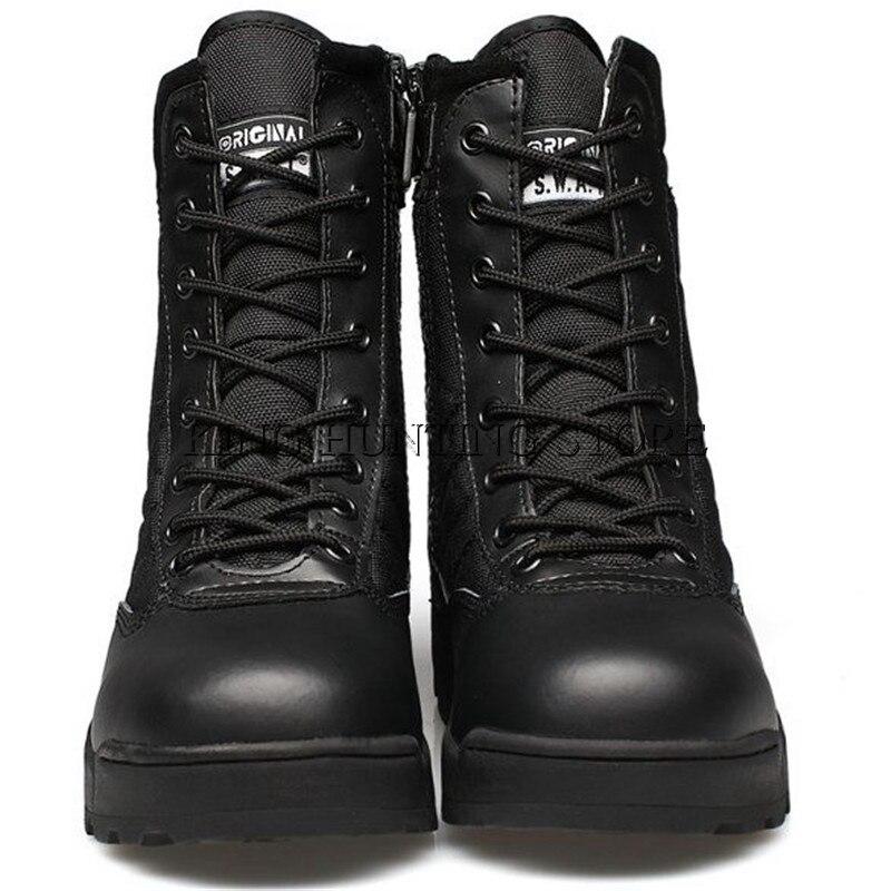 Hot Desert Tactical Military Boots Combat Boots Men Shoes Outdoor Climbing Men SWAT Army Boot Militares tacticos zapatos