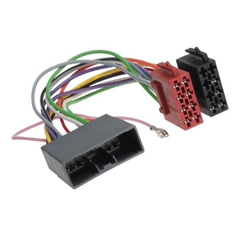 Detail Feedback Questions about RADIO STEREO WIRING LOOM ISO CABLE