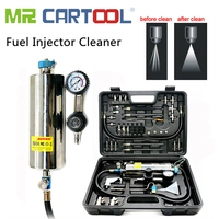 Mr Cartool C100 Car Fuel Injectore Cleaner Non dismantle Bottle Gasoline Auto Fuels Injector Cleaning And Testing System