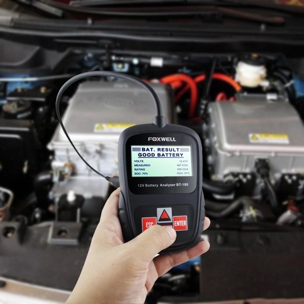 автомобильный аккумулятор анализатор купить