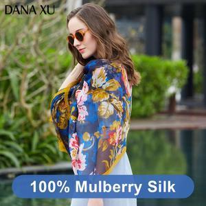 Image 4 - 2019 Silk Long Scarf Luxury Brand Women New Design Beach Blanket Shawl Wear Swimwear Bandana Hijab Face Shield Foulard 245*110cm