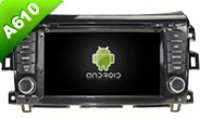 Navirider Eight Core Android 7 1 1 4GB ram car DVD player for NISSAN NAVARA multimedia