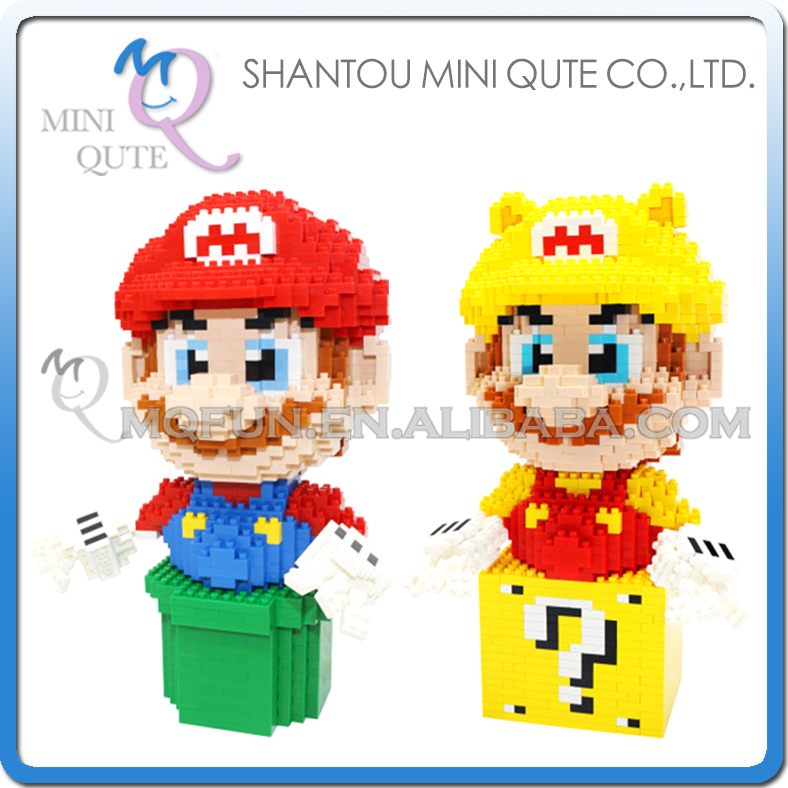 Full Set 2pcs Mini Qute Kawaii CKL kawaii cartoon super mario game models diamond plastic building blocks bricks educational toy mini qute full set 2 pcs lot hc zootopia huge nick wilde judy hopps plastic building block cartoon model educational toy no 9011