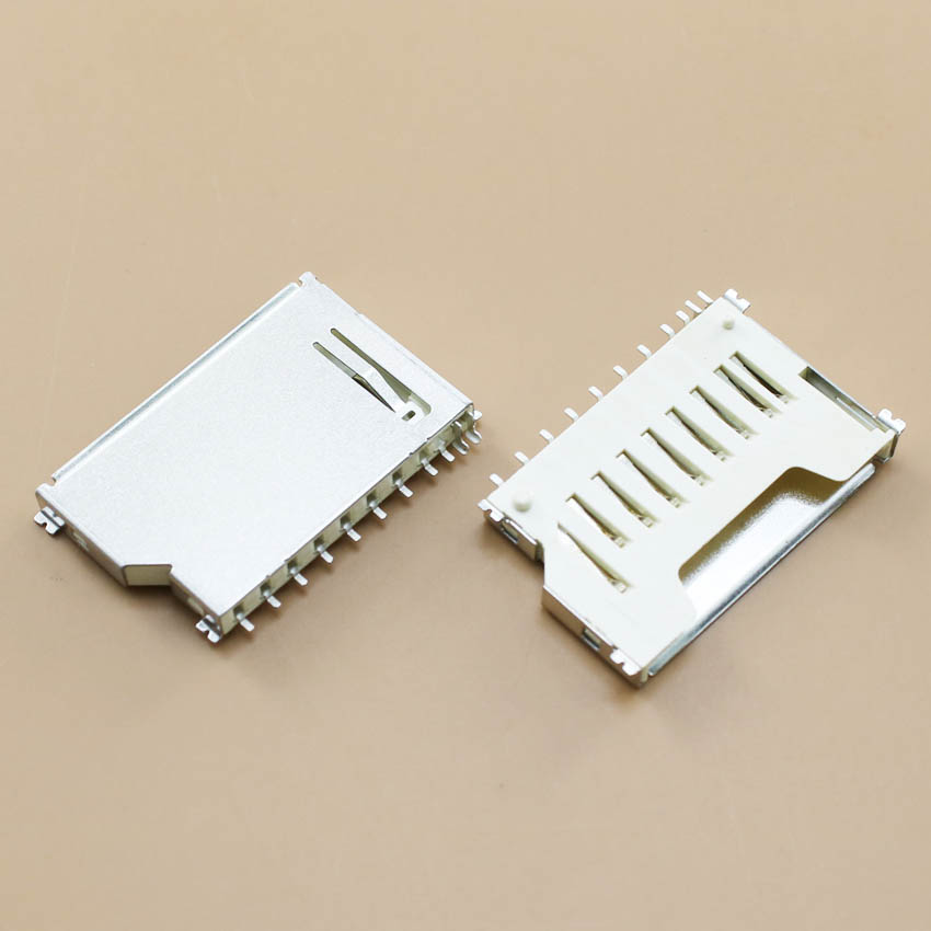 Generic YuXi 1pcs//lot Memory Card Reader Holder Socket Tray Slot Connector Replacement.